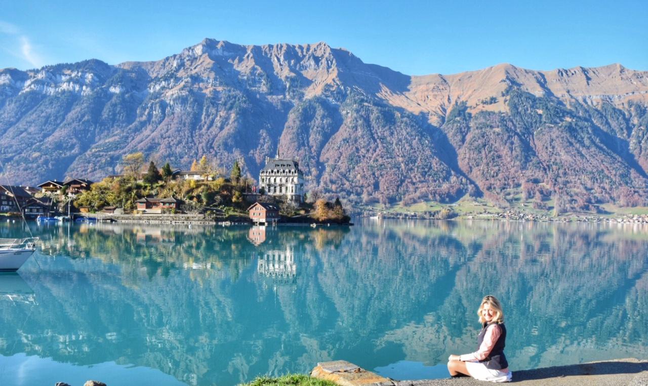 Um achado entre Lucerna e Interlaken: Iseltwald - Suíça