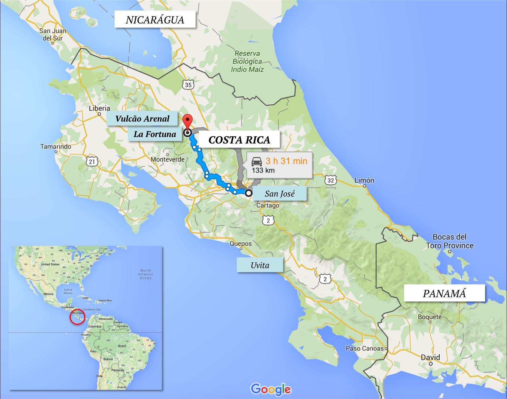 La Fortuna Hotel Arenal Costa Rica