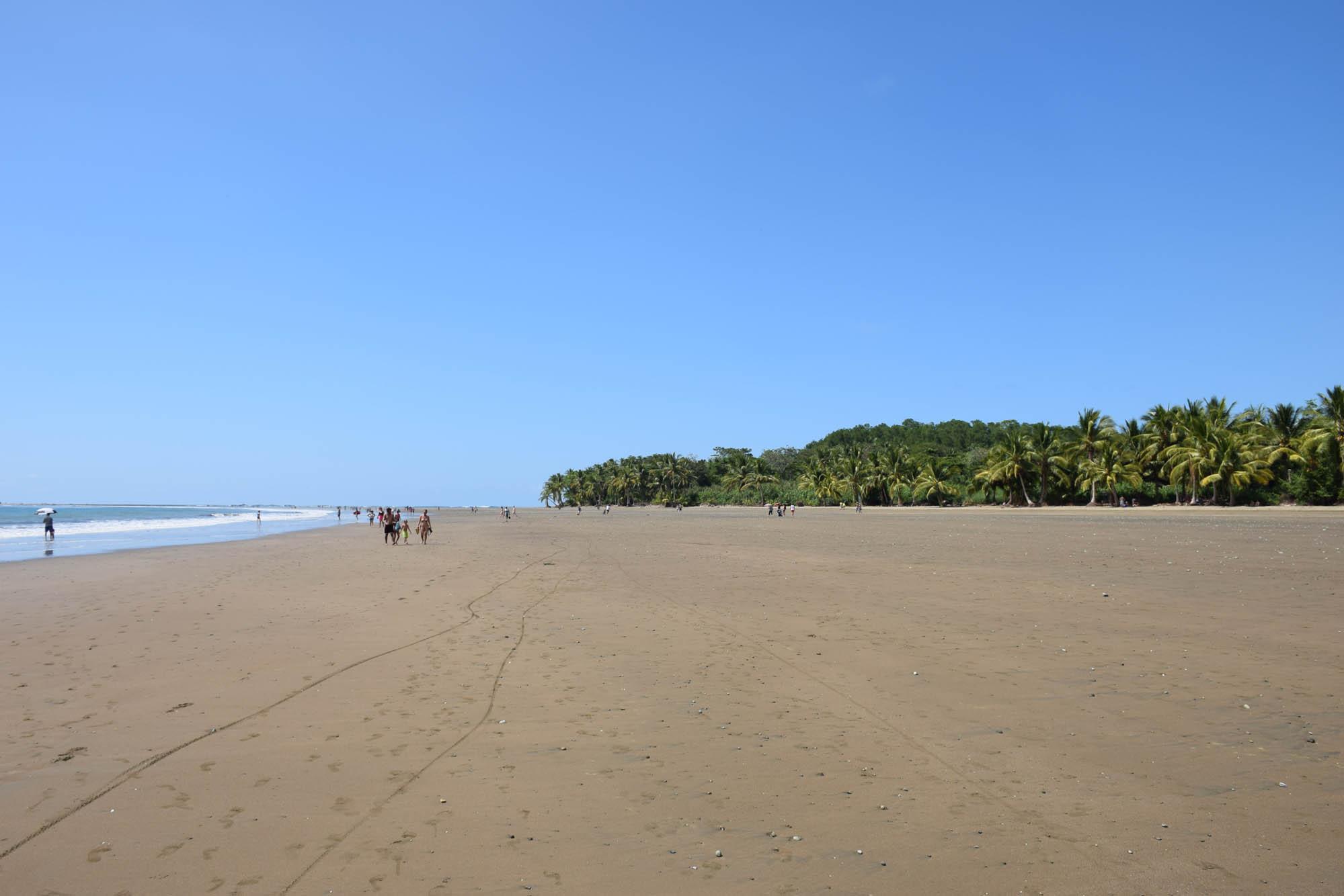 Playa Uvita, Costa Rica - looongo caminho para chegar na Cola de la Ballena