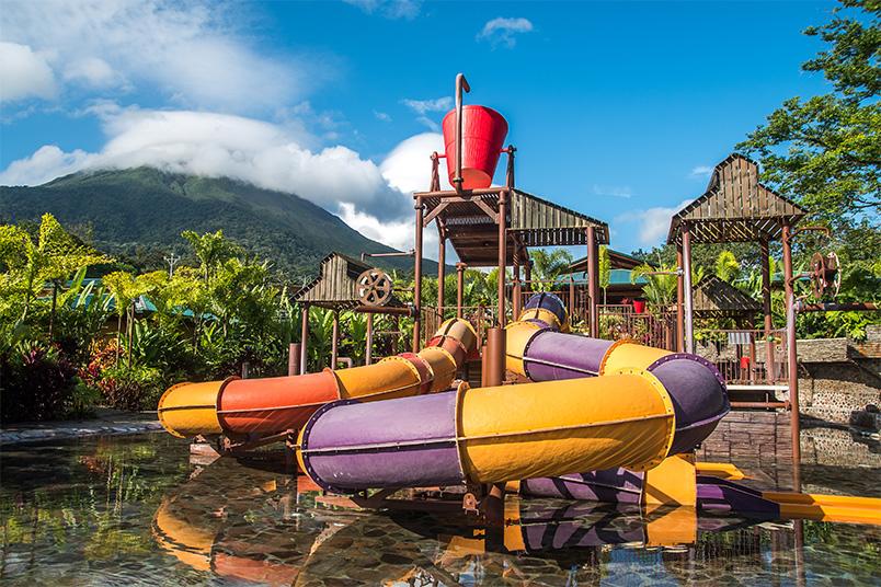 Kalambu Hot Springs Water Park - Vulcão Arenal - Costa Rica | fotos: divulgação do parque