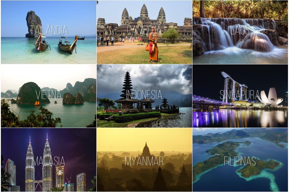 viagem sudeste asiático - dicas