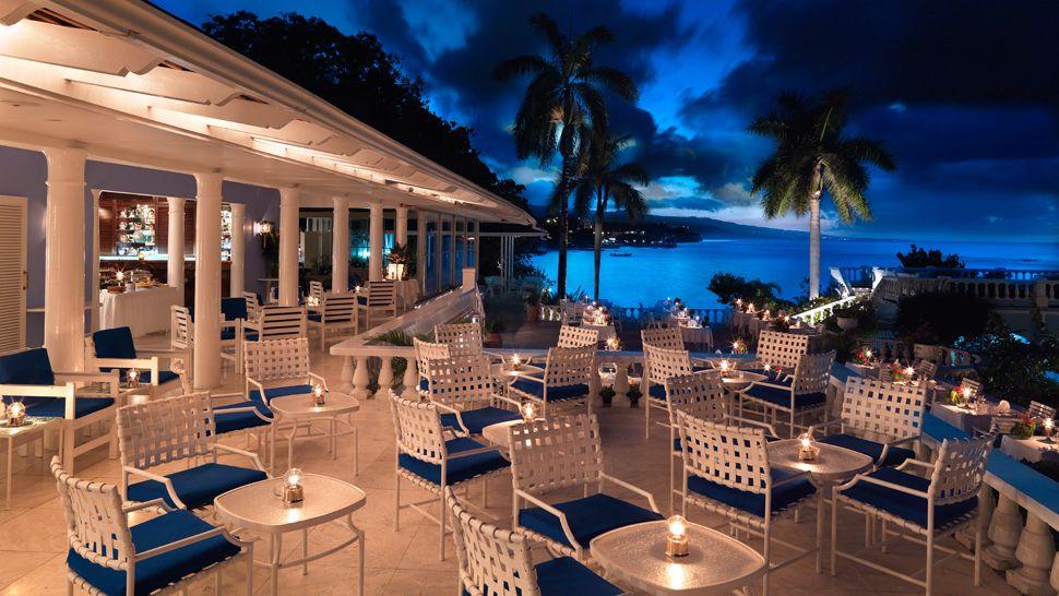 Restaurante do Jamaica Inn Ocho Rios (fui e recomendo!!)