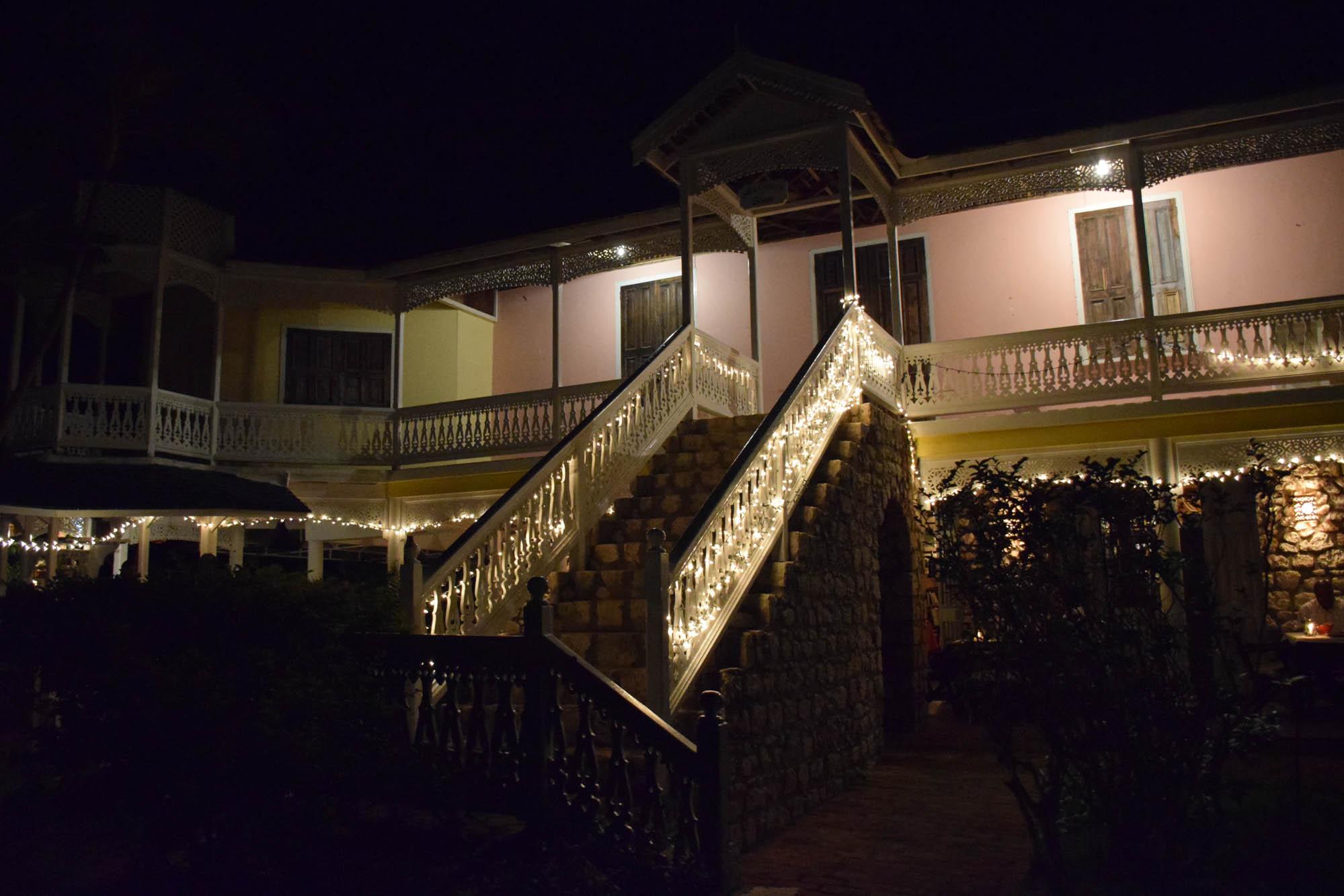 Harmony Hall - onde fica o restaurante Toscanini