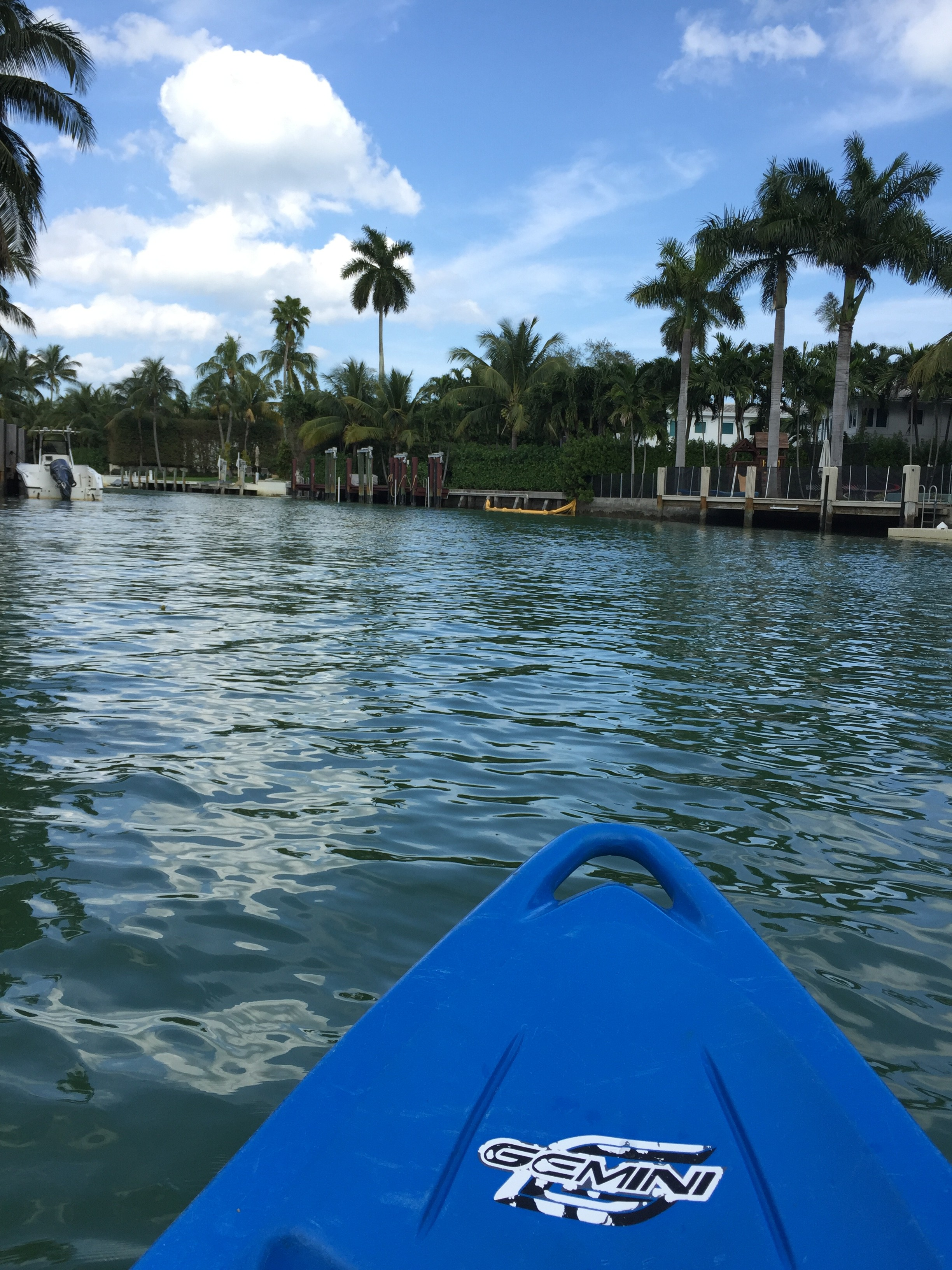 Kayak em South Beach
