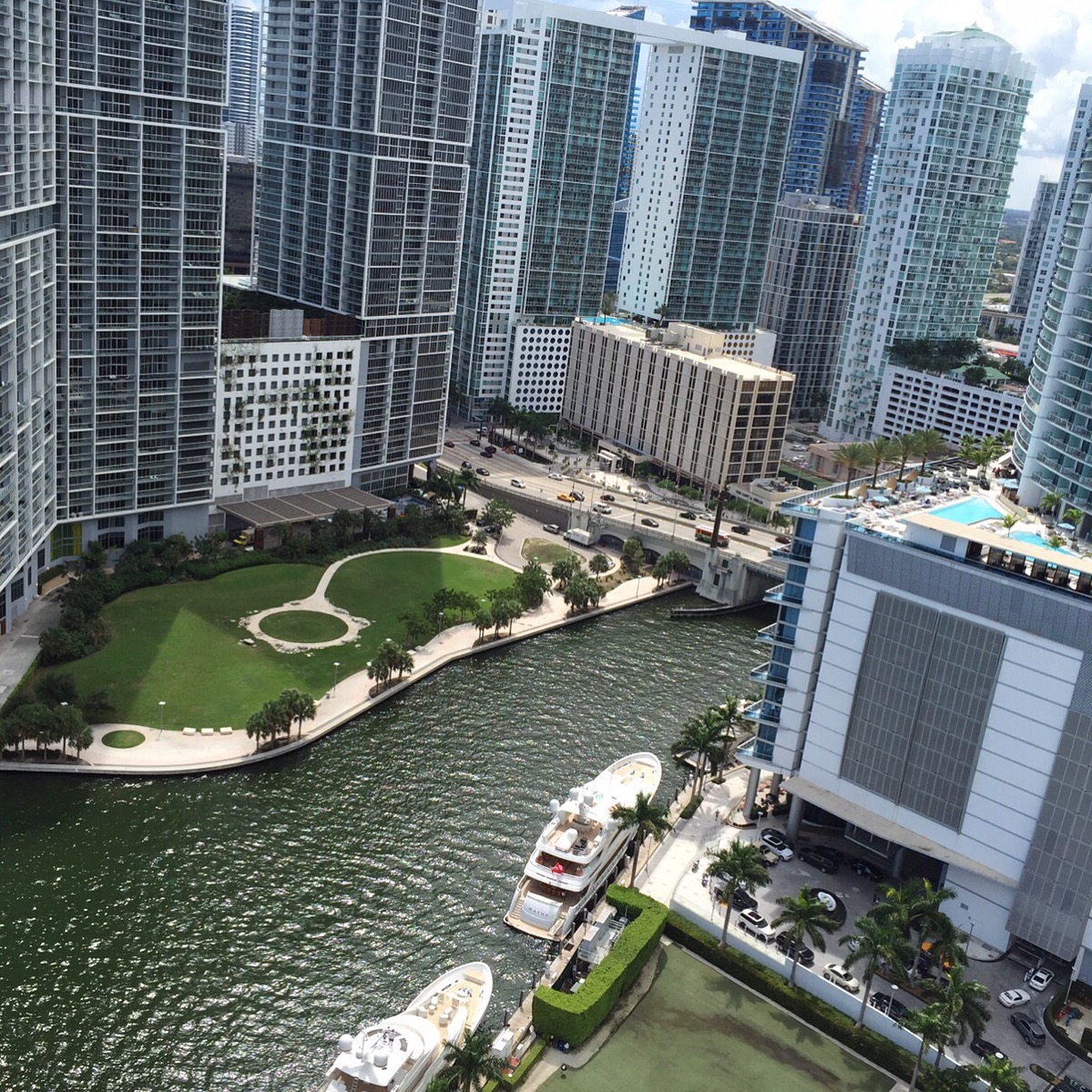 Miami River - Downtown