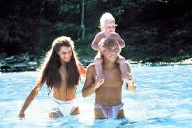 Eu e meu marido na Blue Lagoon... HAHAHA! Mentiraaa! Cena do filme de 1980!!!