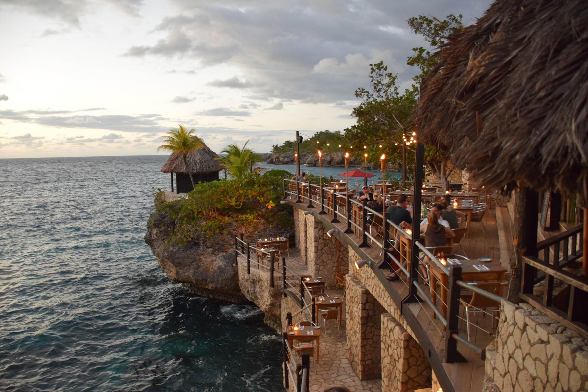 RockHouse Restaurant, no hotel RockHouse - um MUST em Negril, Jamaica