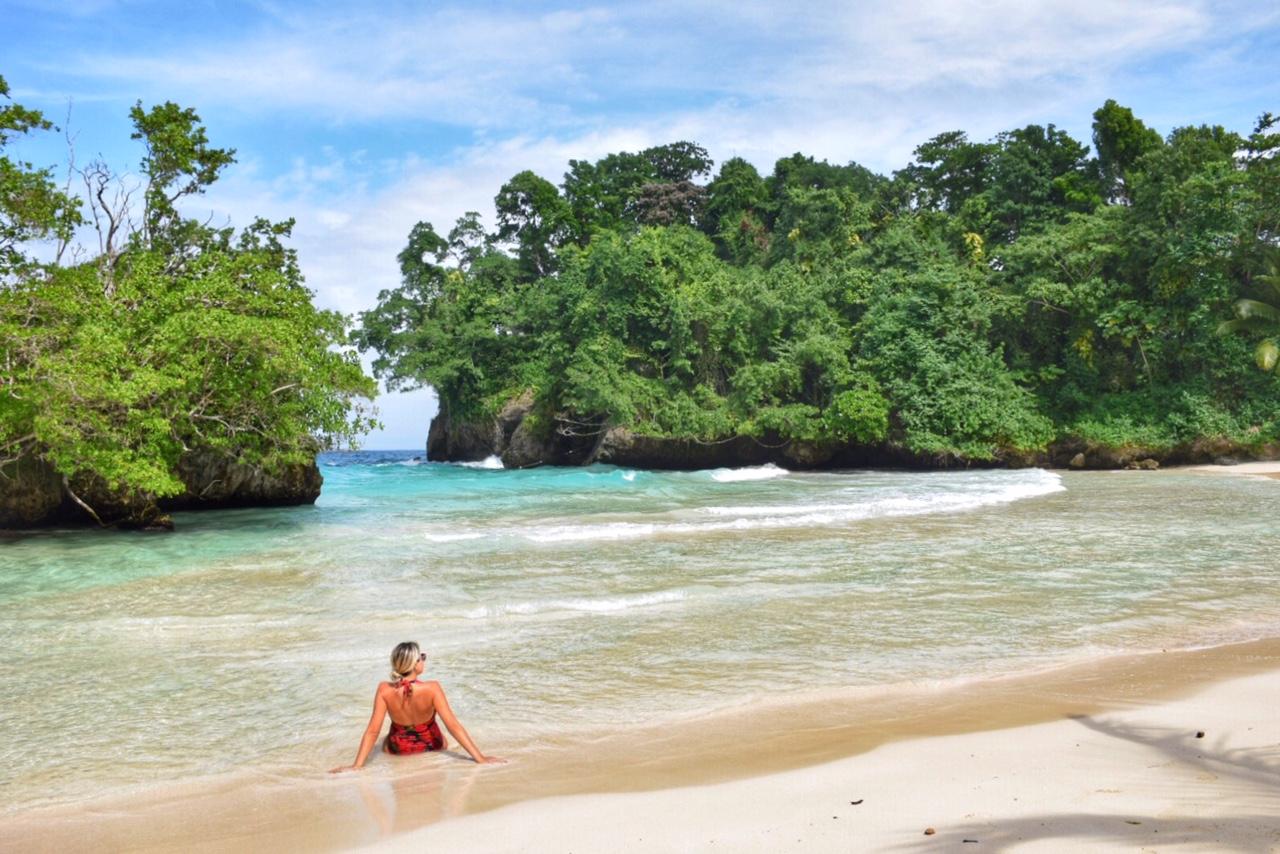 Port Antonio Jamaica - frenchmans cove beach