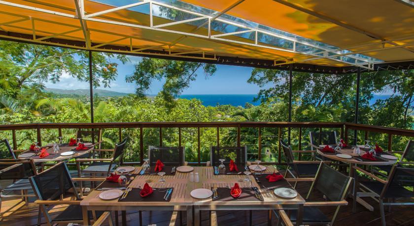 Restaurante do Geejam Hotel - Port Antonio - Jamaica