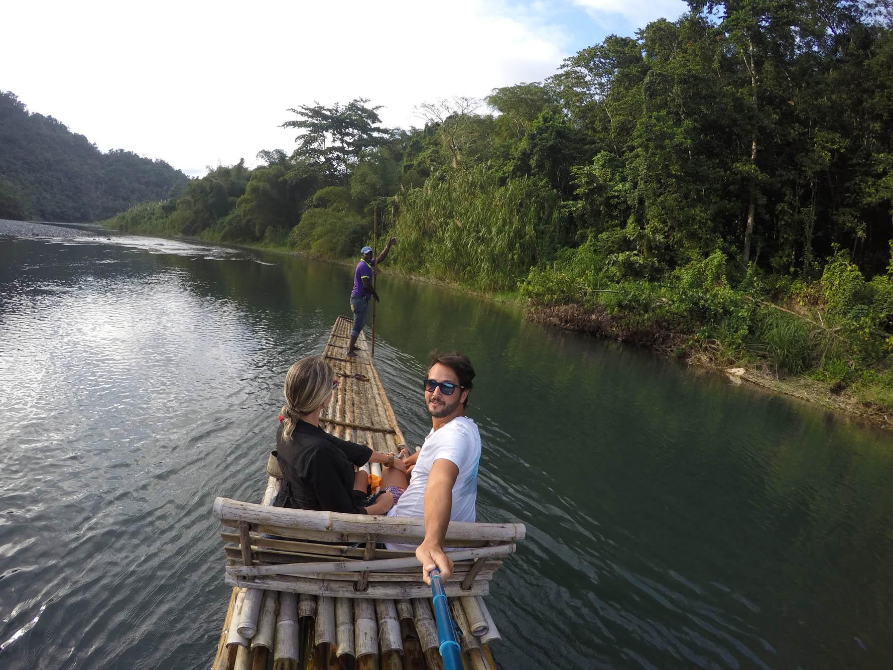 Port Antonio Jamaica - bamboo rafting rio grande
