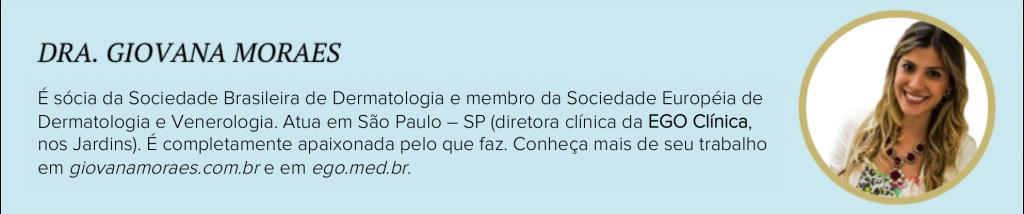 Dra Giovana Moraes Dermatologista