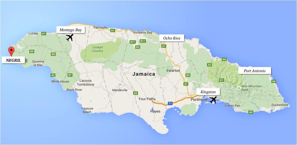 ROTEIRO JAMAICA COMO SE LOCOMOVER