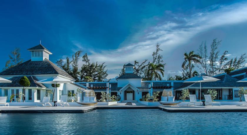 O palacete no qual o Trident Hotel de Port Antonio está instalado