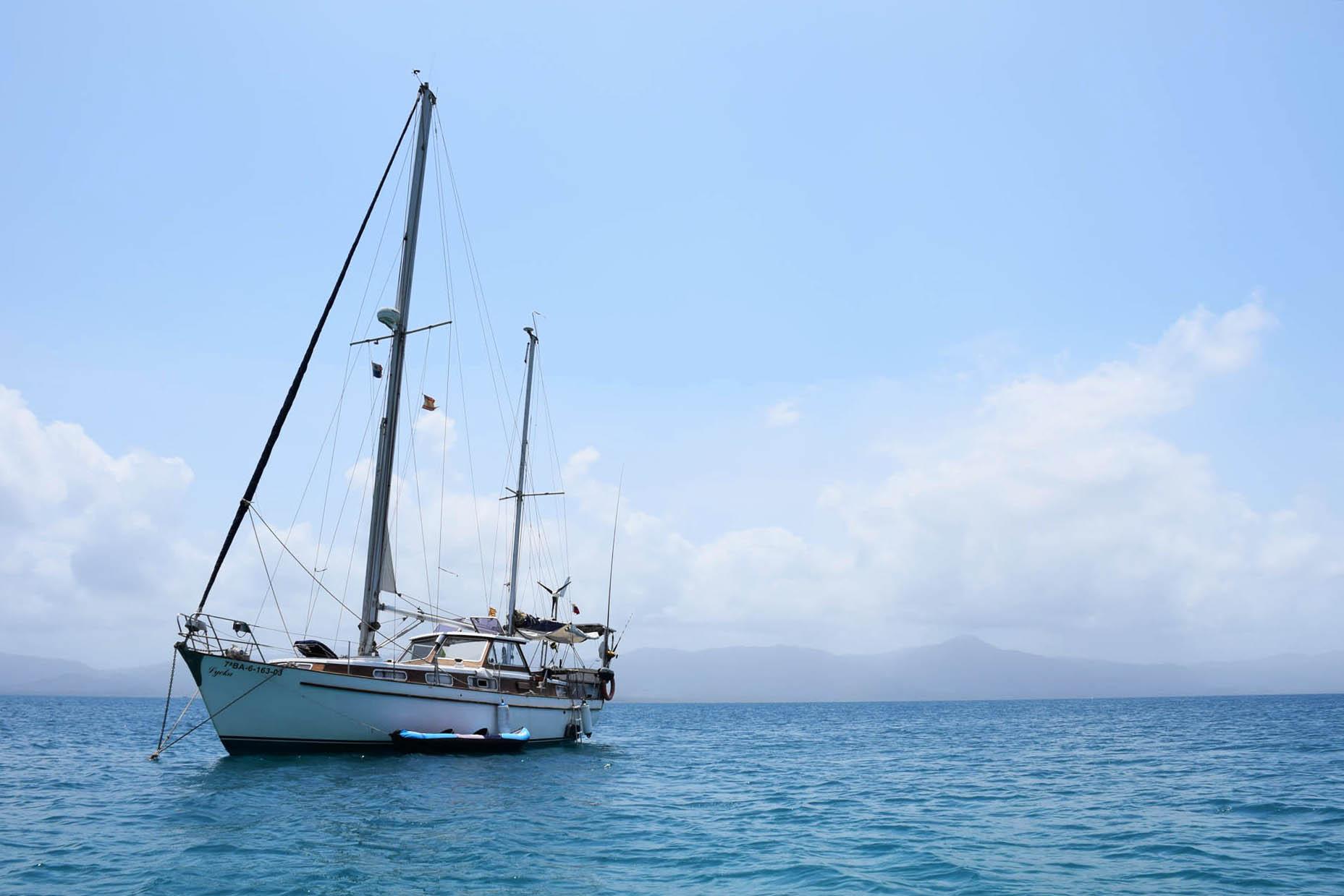 san blas - panama - veleiro
