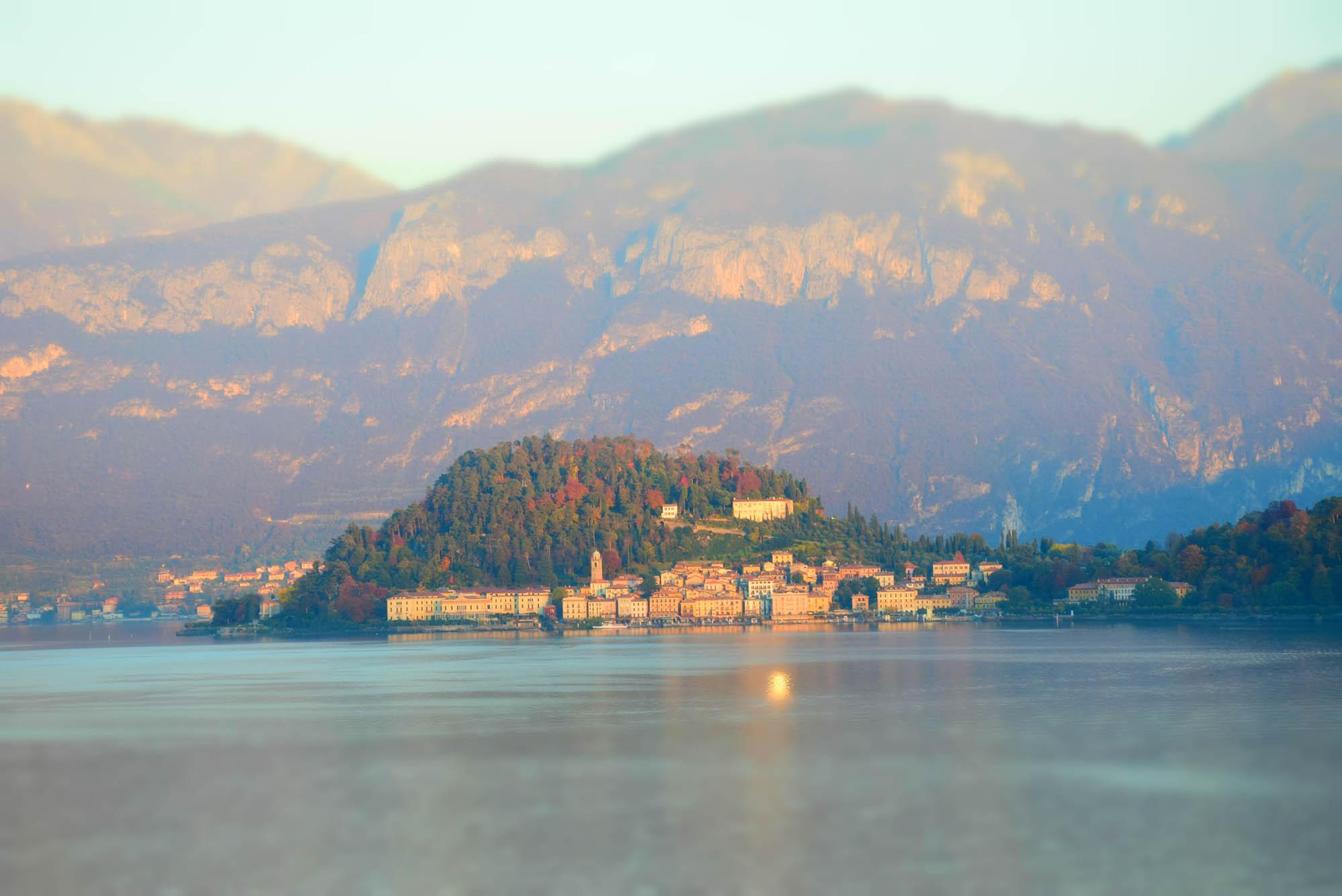 Chegando em Bellagio - Lago di Como - Itália
