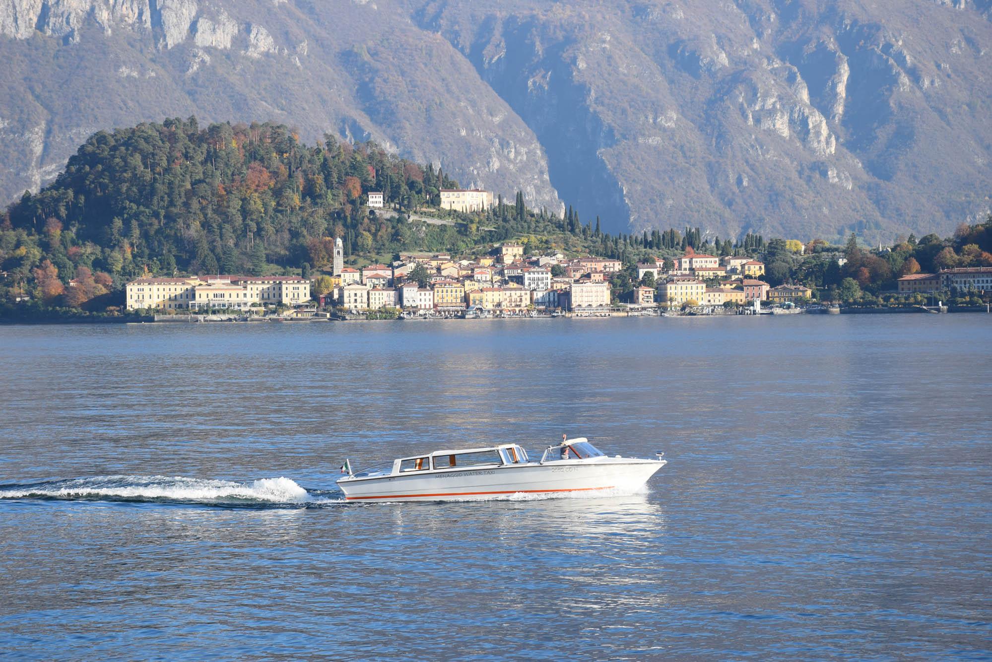 Passeios de barco pelo Lago di Como