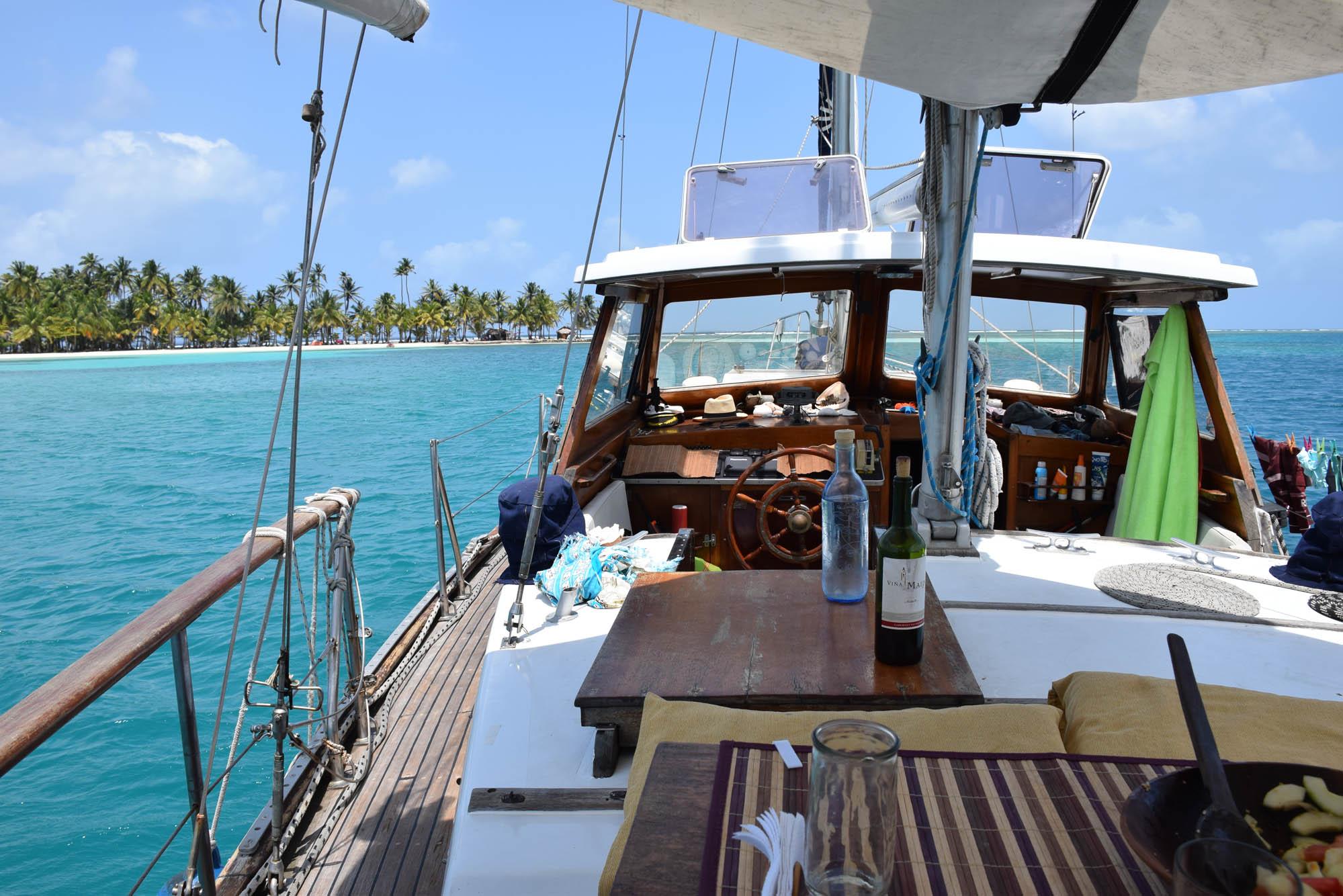 san blas - panama - veleiro lycka