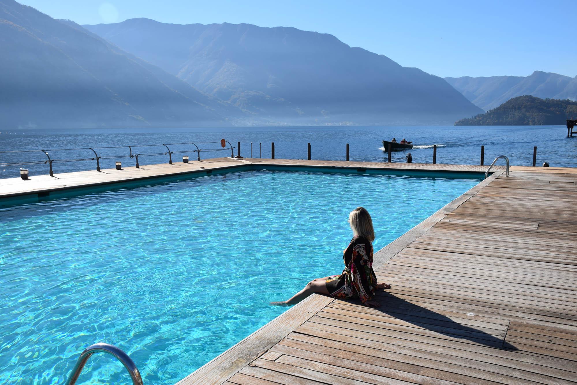 As piscinas mais lindas do mundo - Grand Hotel Tremezzo - Italia