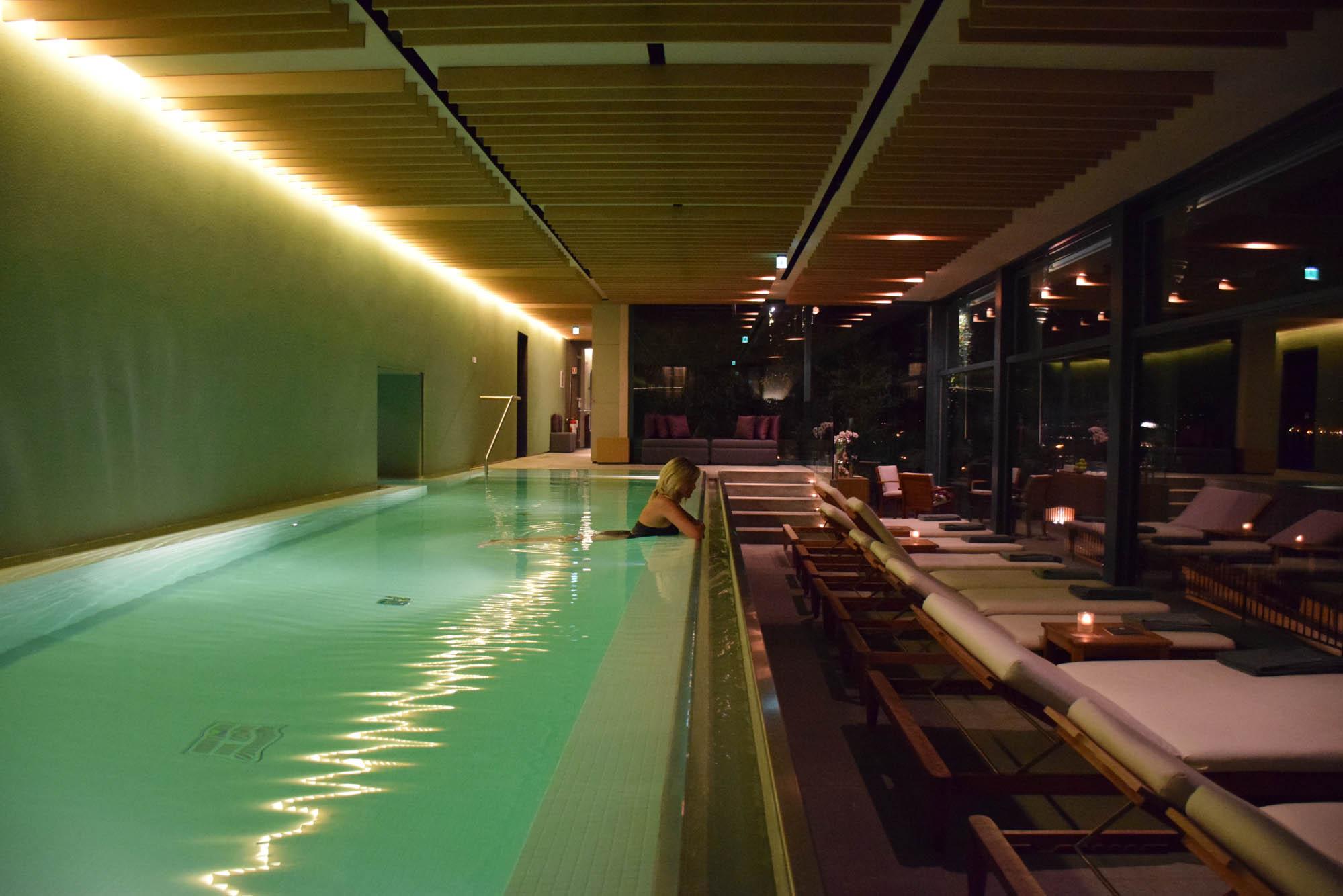 Piscina do SPA do Grand Hotel Tremezzo | Lago di Como, Itália