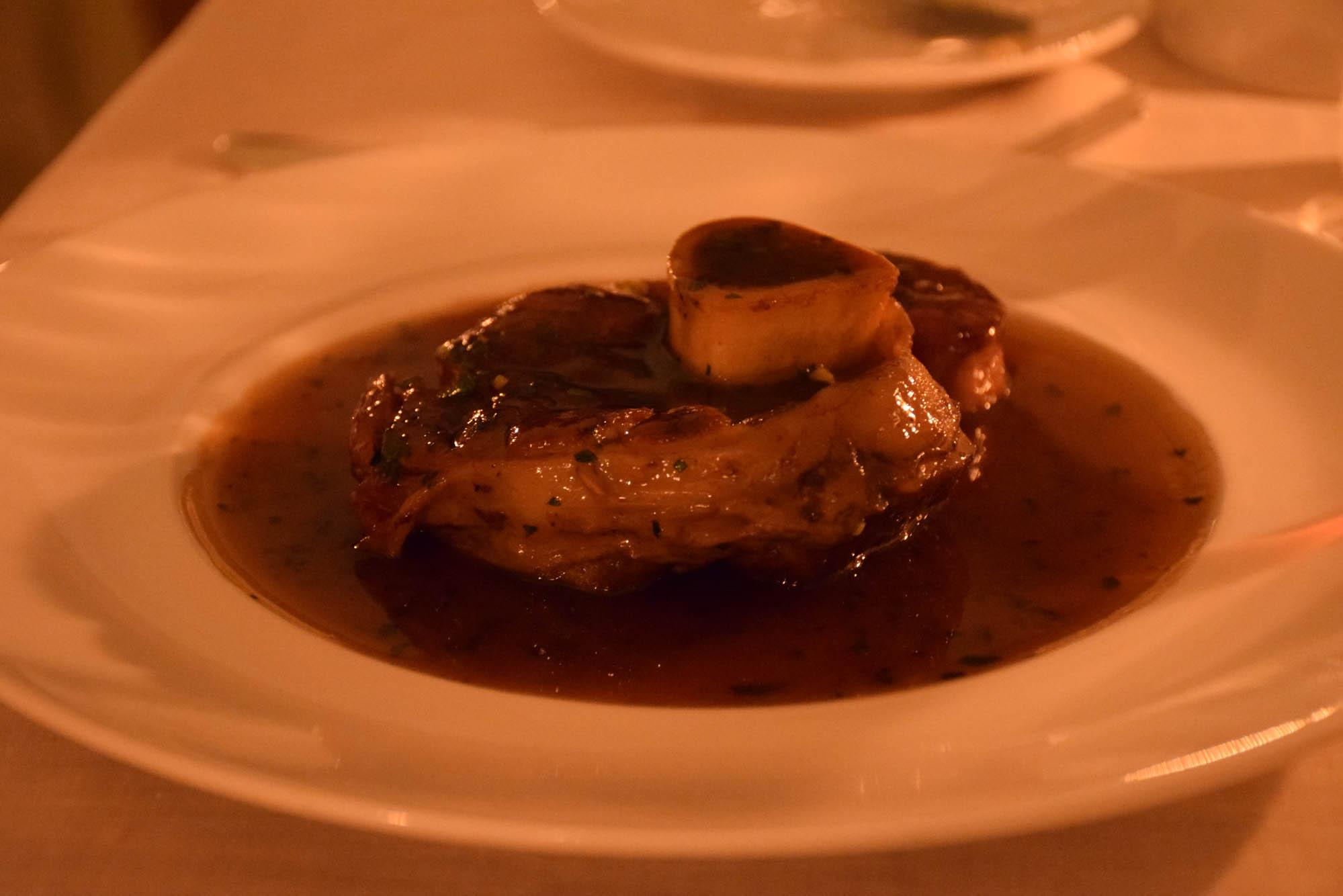 Ossobuco divino! | Restaurante La Terraza – Grand Hotel Tremezzo