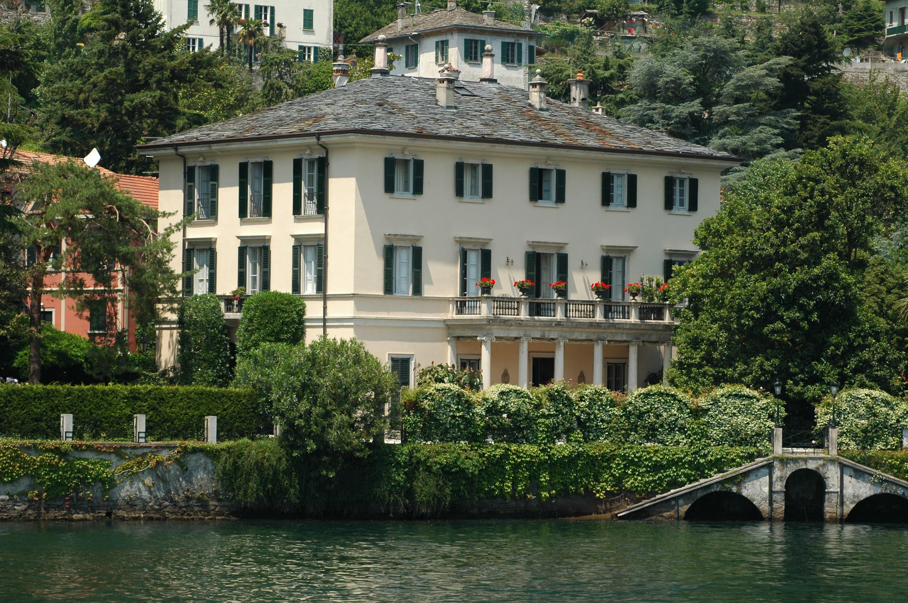 Villa Oleandra - a casa de George Clooney em Laglio, no Lago di Como, Itália