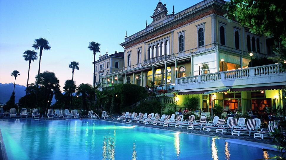 A piscina do Grand Hotel Villa Serbelloni, em Ballagio - Lago di Como - Itália | foto: divulgação