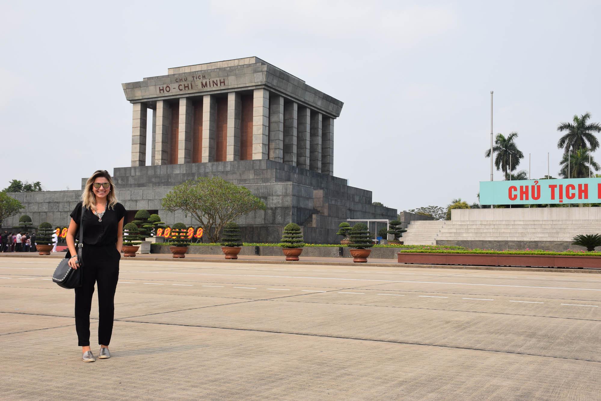 Mausoléu de Ho Chi Minh, em Hanoi