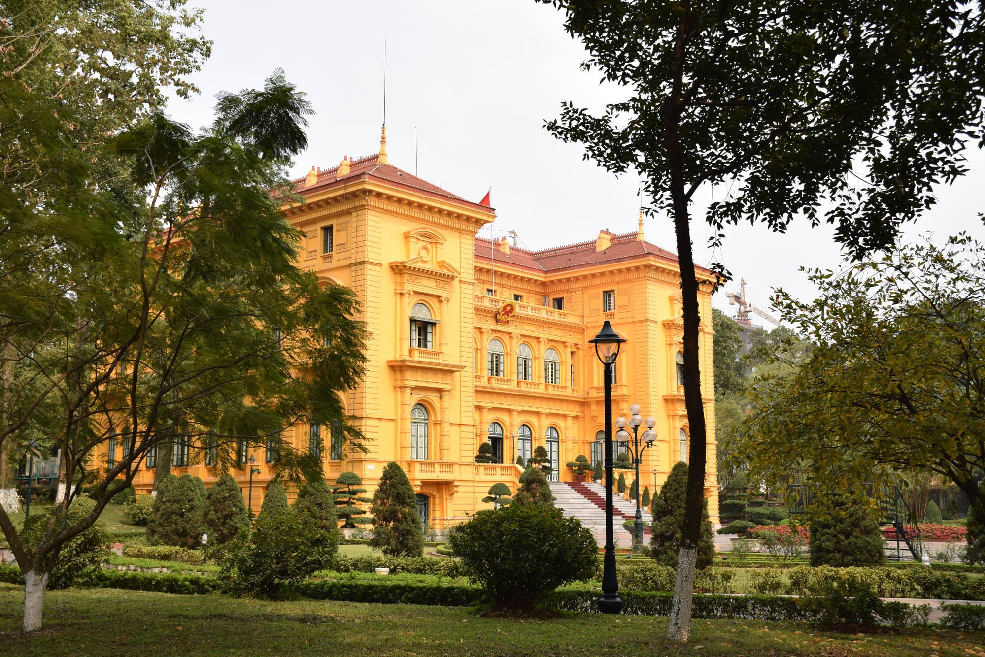 Palácio presidencial - Ho Chi Minh Complex - Hanoi