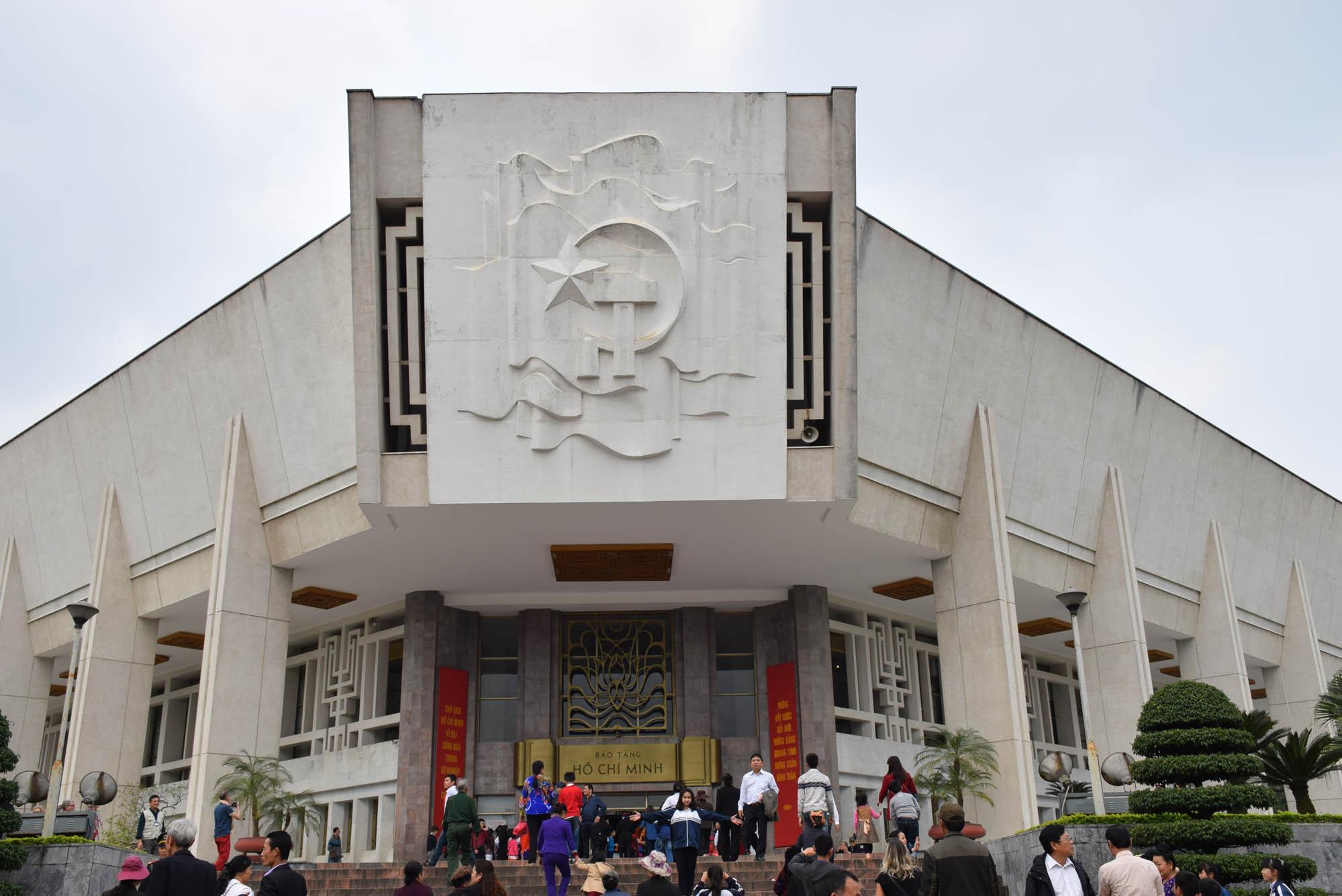 Museu do Ho Chi Minh, dentro do complexo, em Hanoi