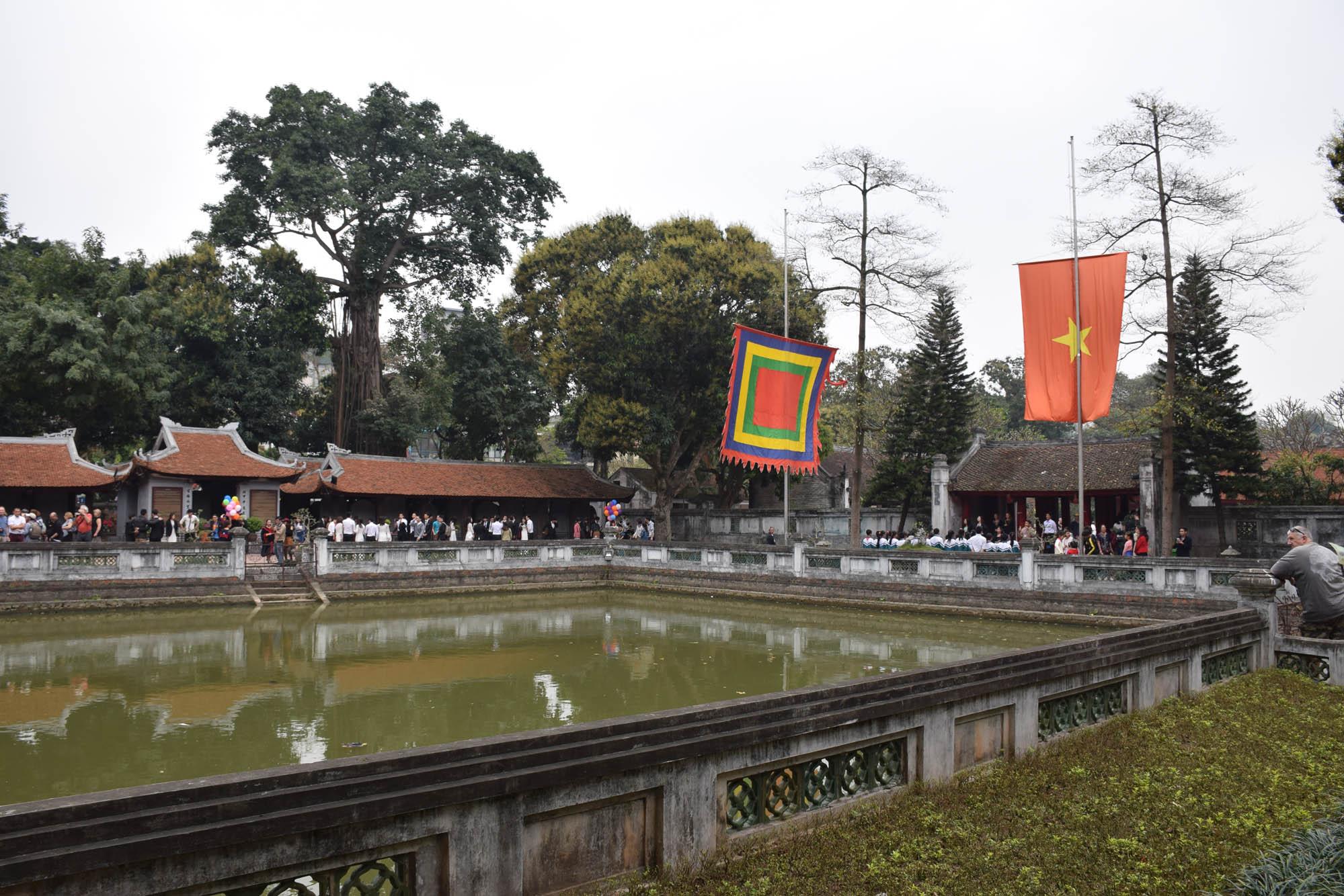 Templo da Literatura, em Hanoi, Vietnã