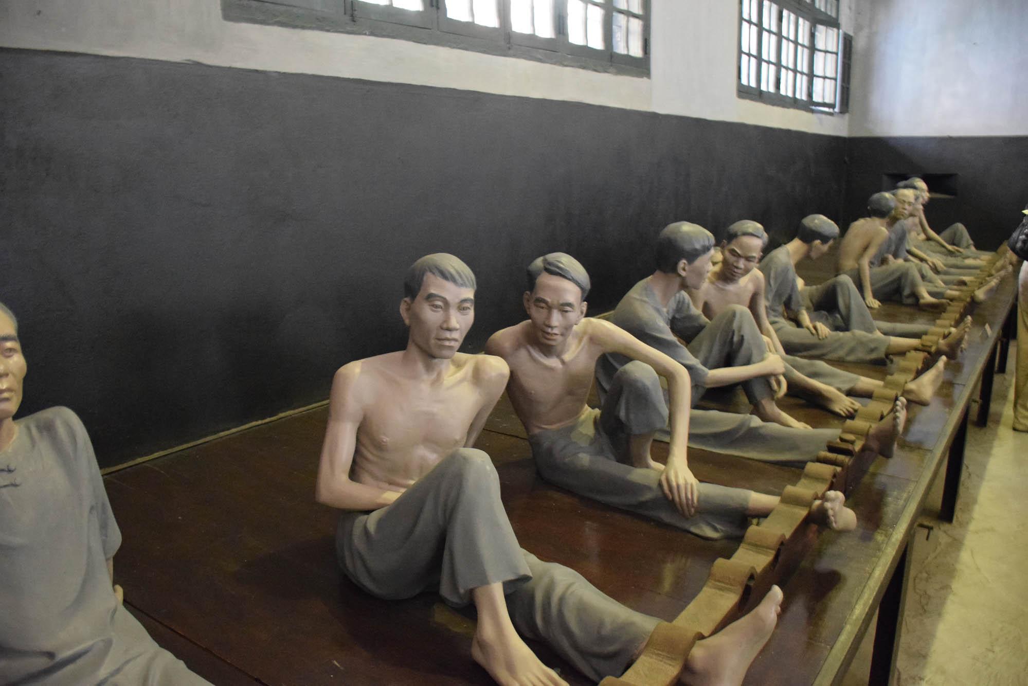 Hoa Lo Prison Hanoi Vietnam museum