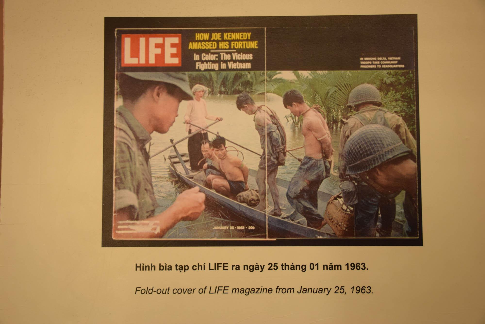 Fotos da guerra no Museu das Reminiscências da Guerra em Ho Chi Minh