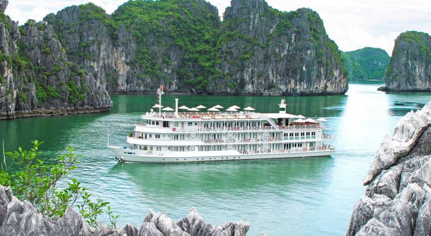 Au Co Cruise - barco grandão e luxuoso em Halong Bay | foto: divulgação