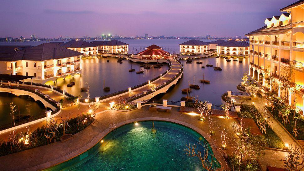 Hotel InterContinental Hanoi Westlake | foto: divulgação