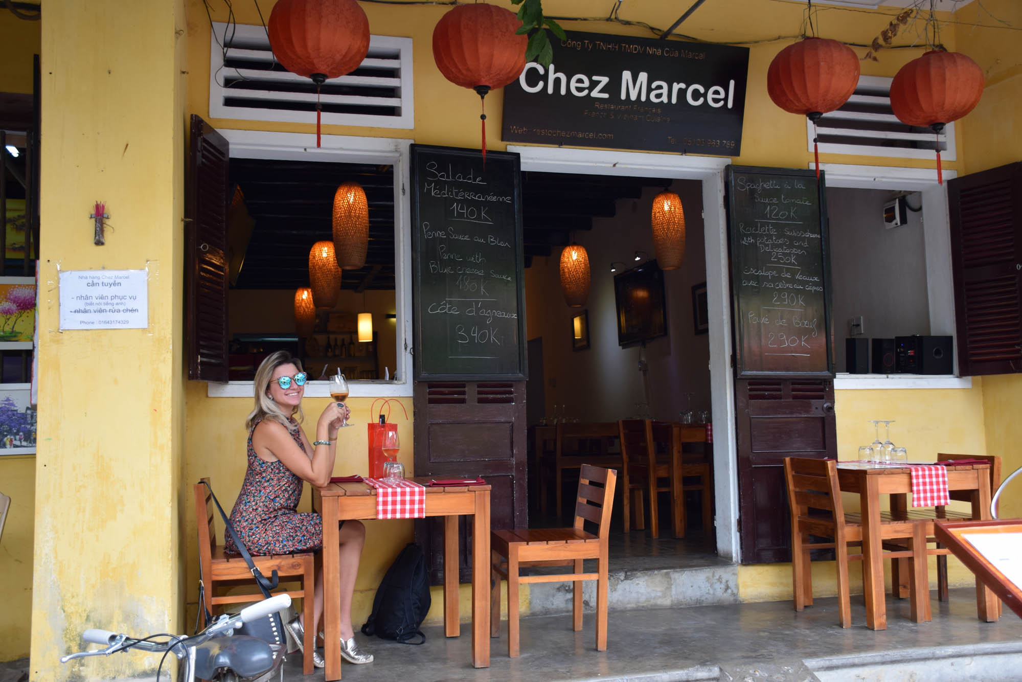 Restaurante Chez Marcel, em Hoi An