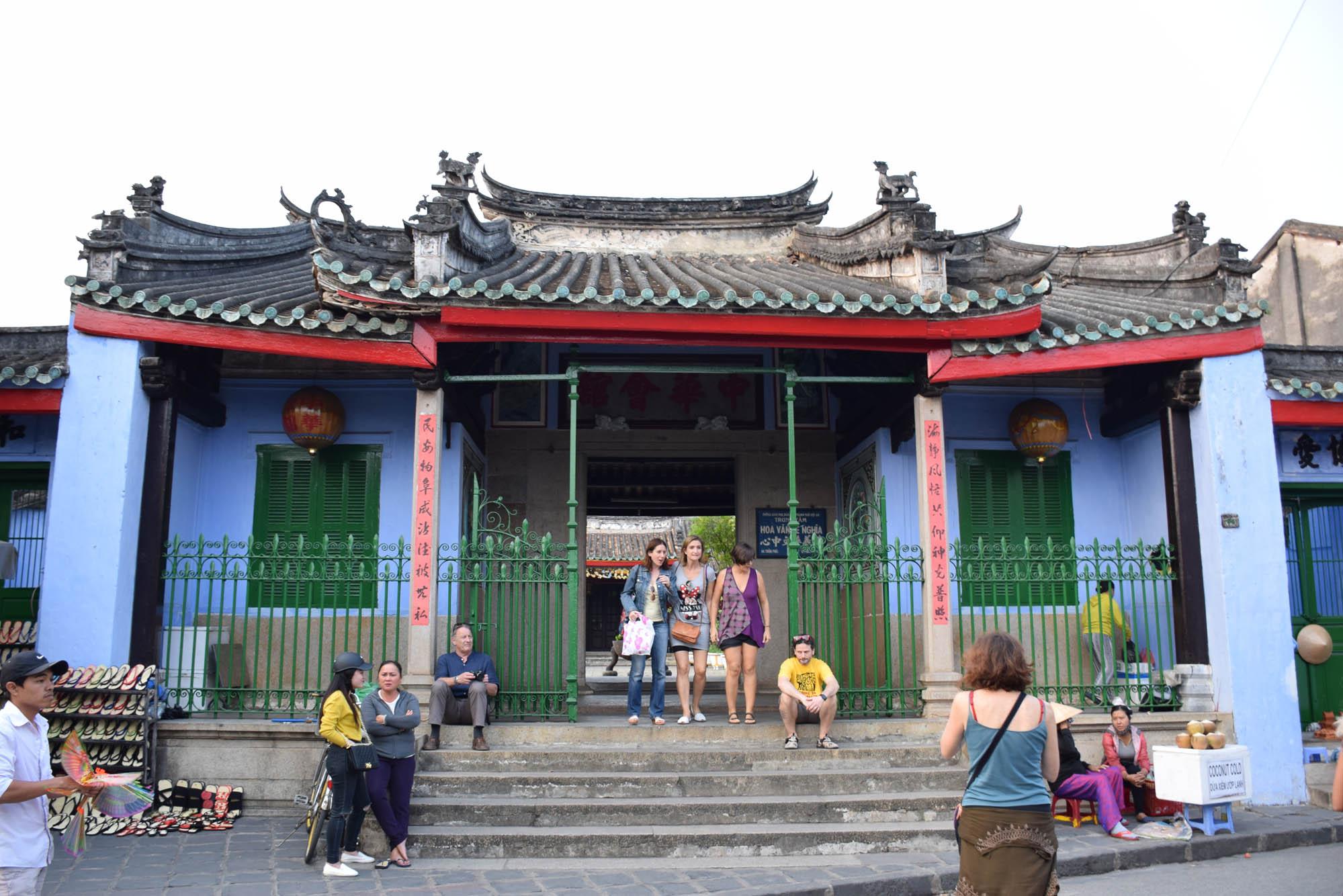Trung Hoa Assembly Hall, também chamada de Duong Thuong Assembly Hall hoi an