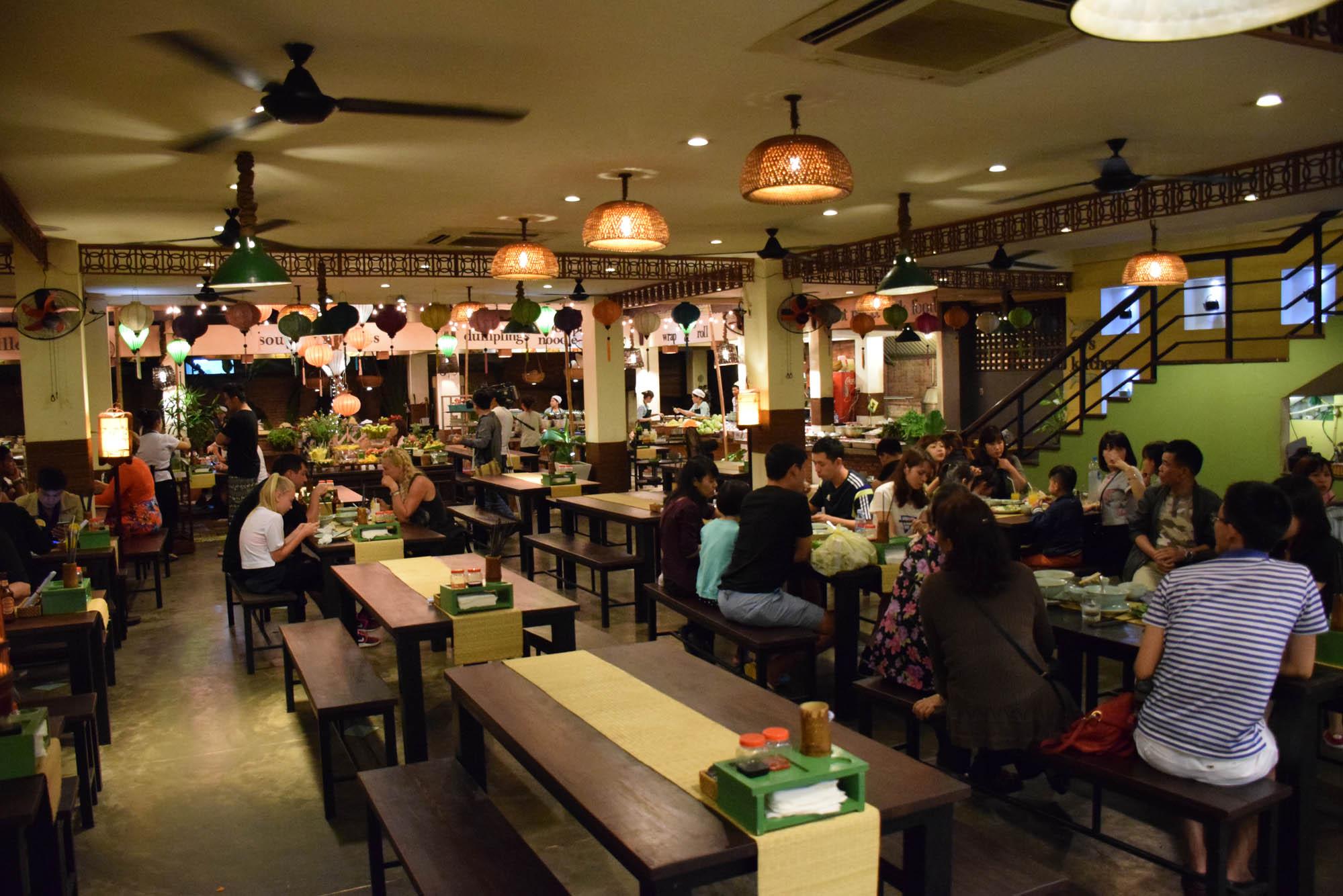 Vys Market - restaurante em Hoi An para provar todas as delícias vietnamitas