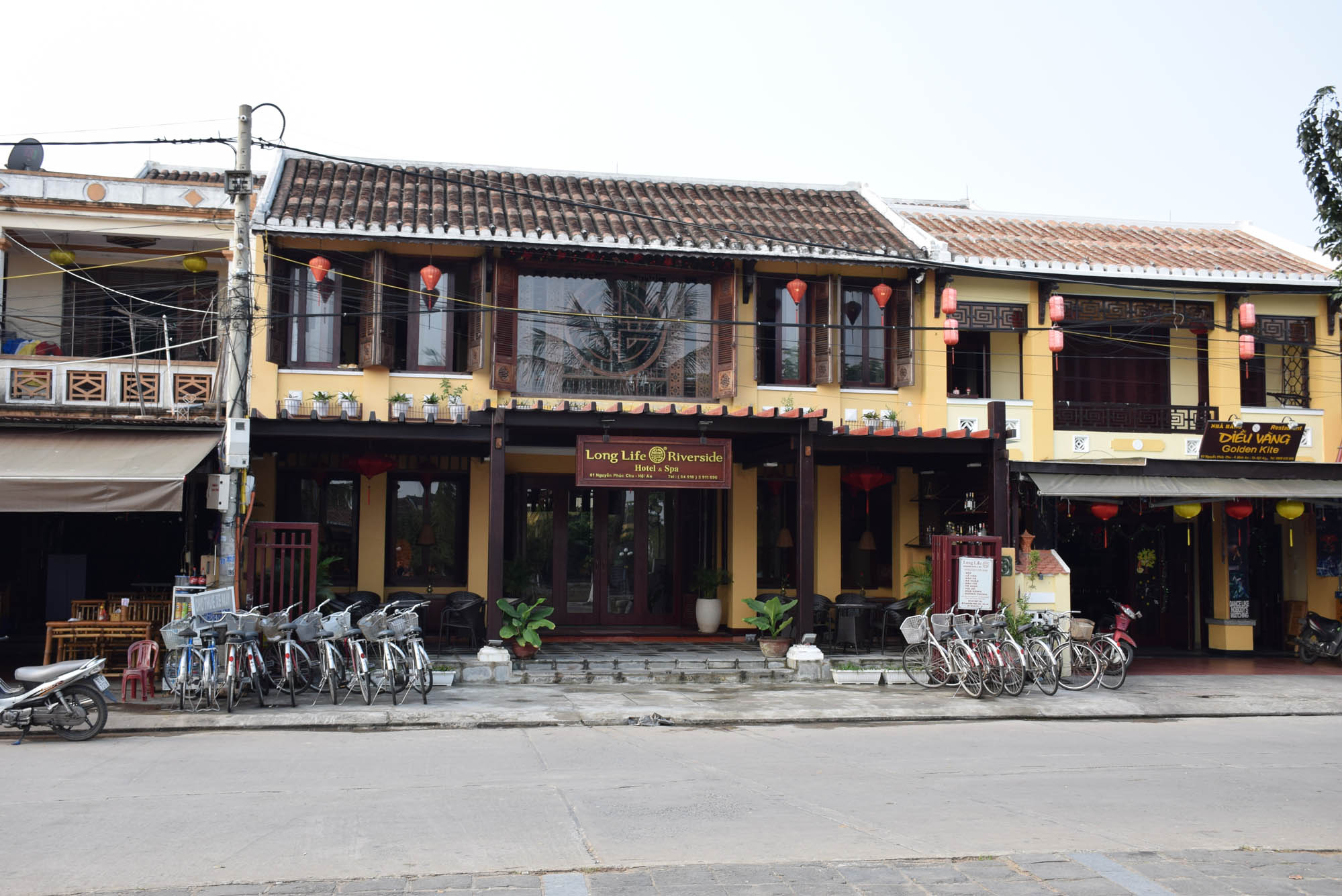 Long Life Riverside Hotel, Hoi An, Vietnã