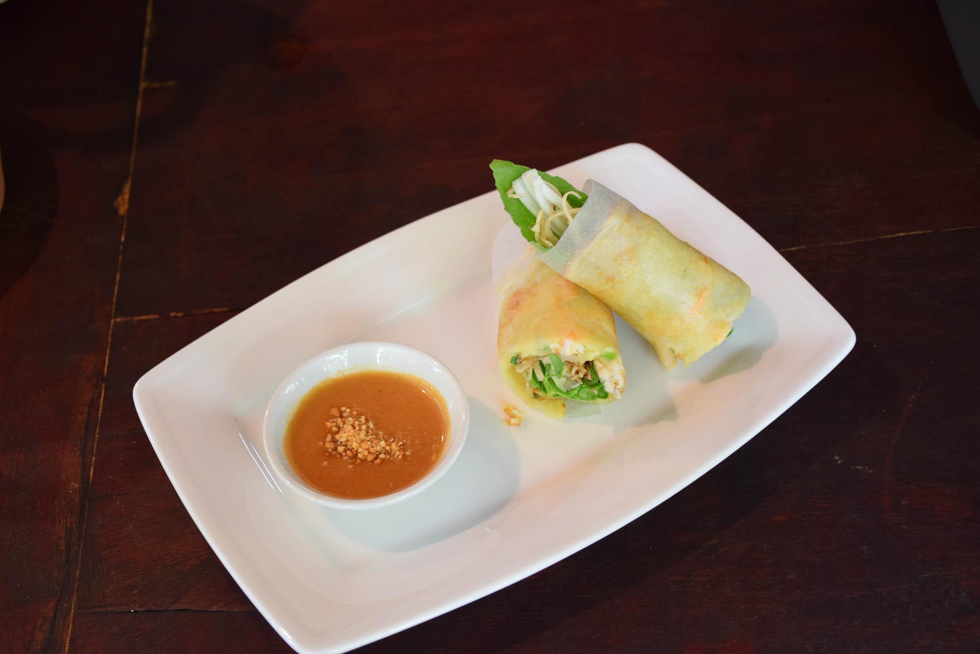 Rolinhos primavera vietnamitas (com papel de arroz)