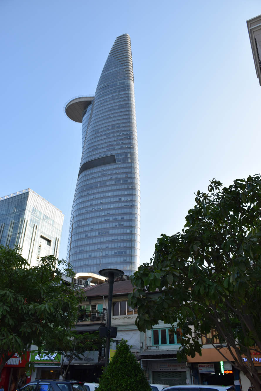 Bitexco Financial Tower - o prédio mais alto de Saigon