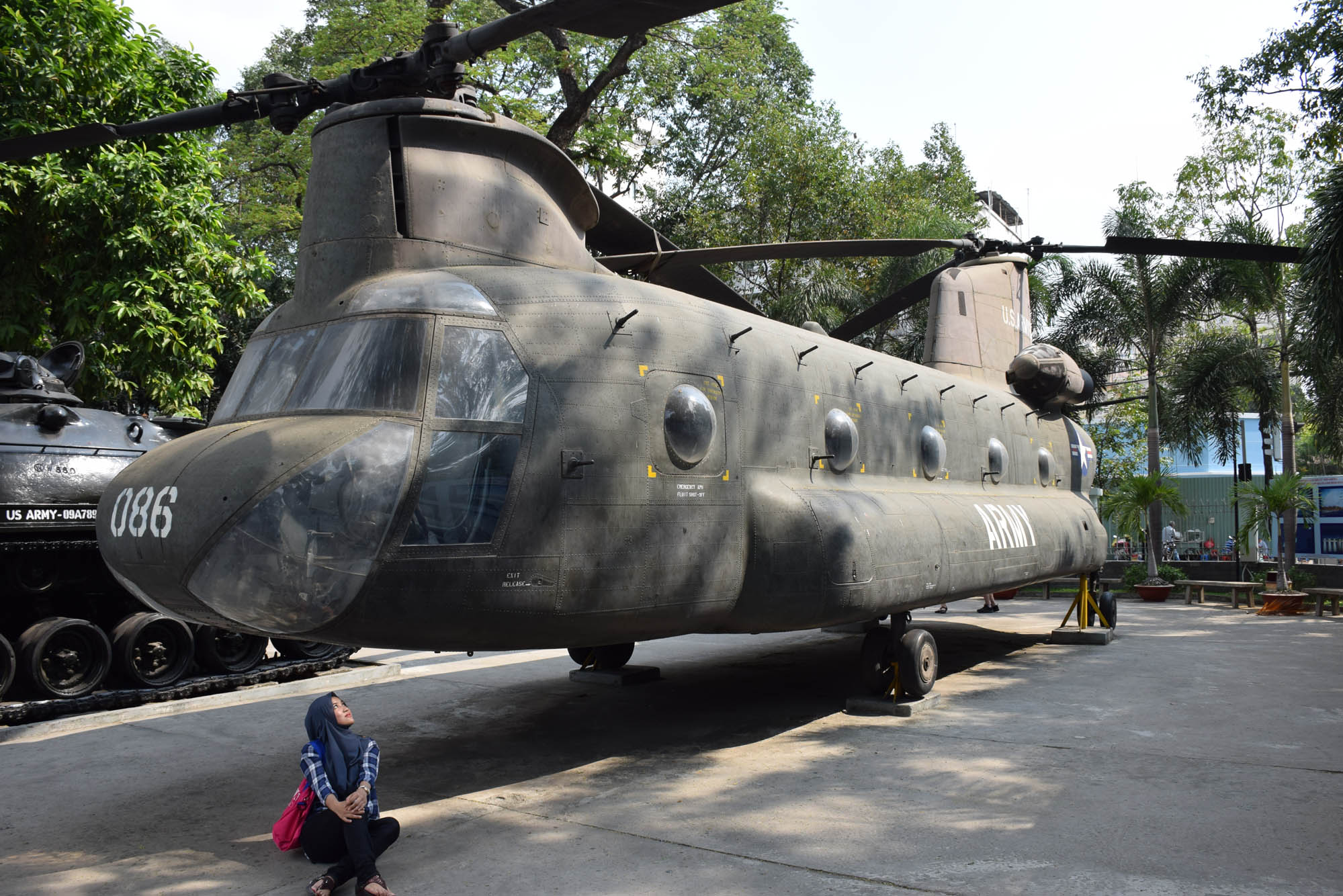 war remnants museum ho chi minh city saigon vietnam