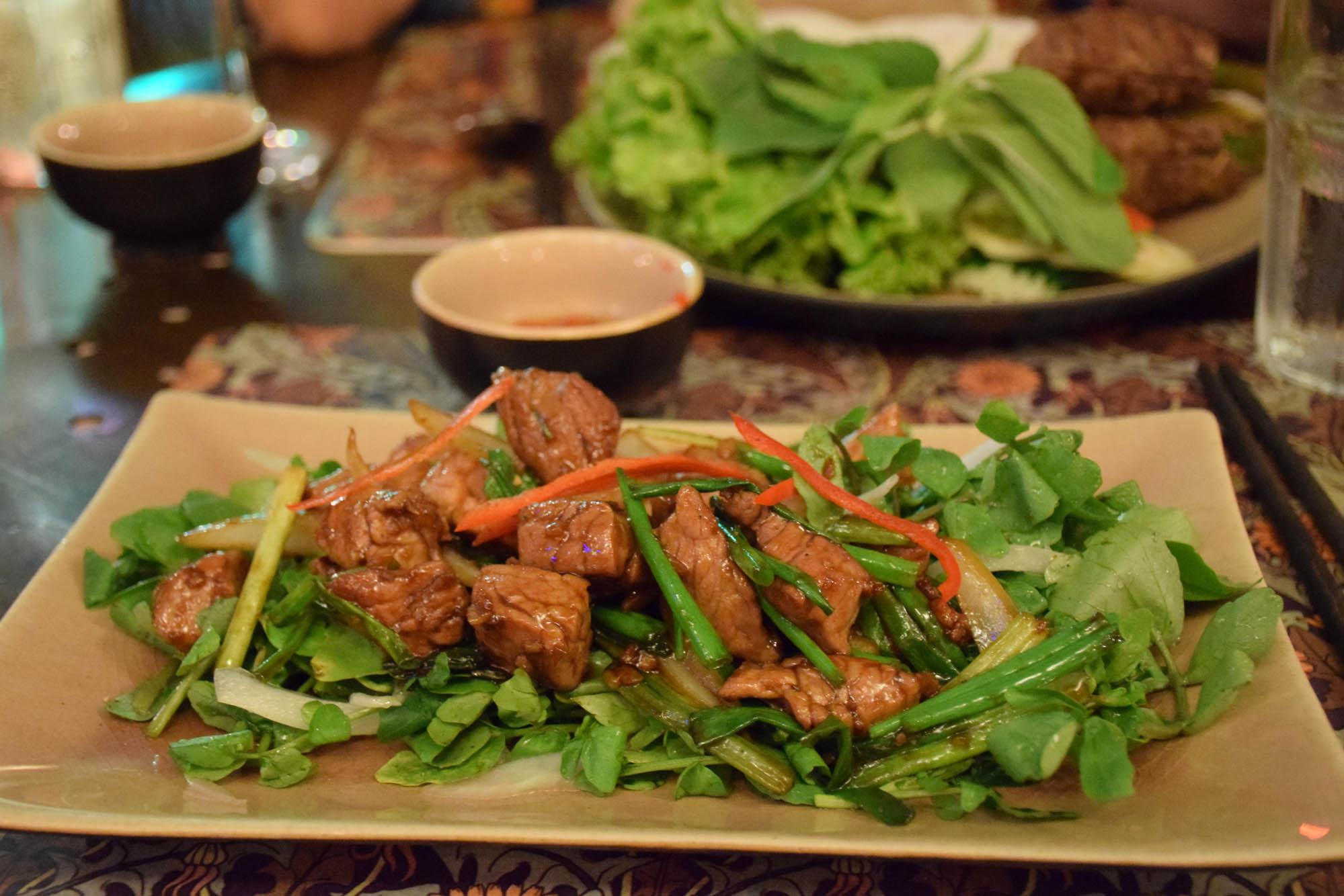O prato do meu marido: wok de carne