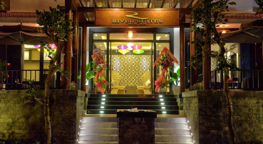 Exterior do River Suites Hotel, em Hoi An, Vietnã | foto: divulgação
