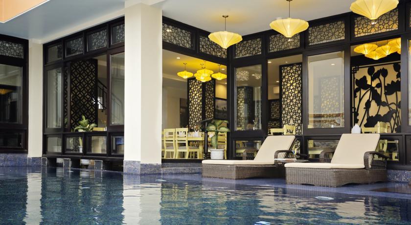 Piscina do River Suites Hotel, em Hoi An, Vietnã | foto: divulgação
