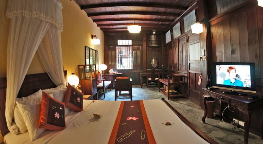 Quarto do Vinh Hung Heritage Hotel, no centro histórico de Hoi An | foto: divulgação