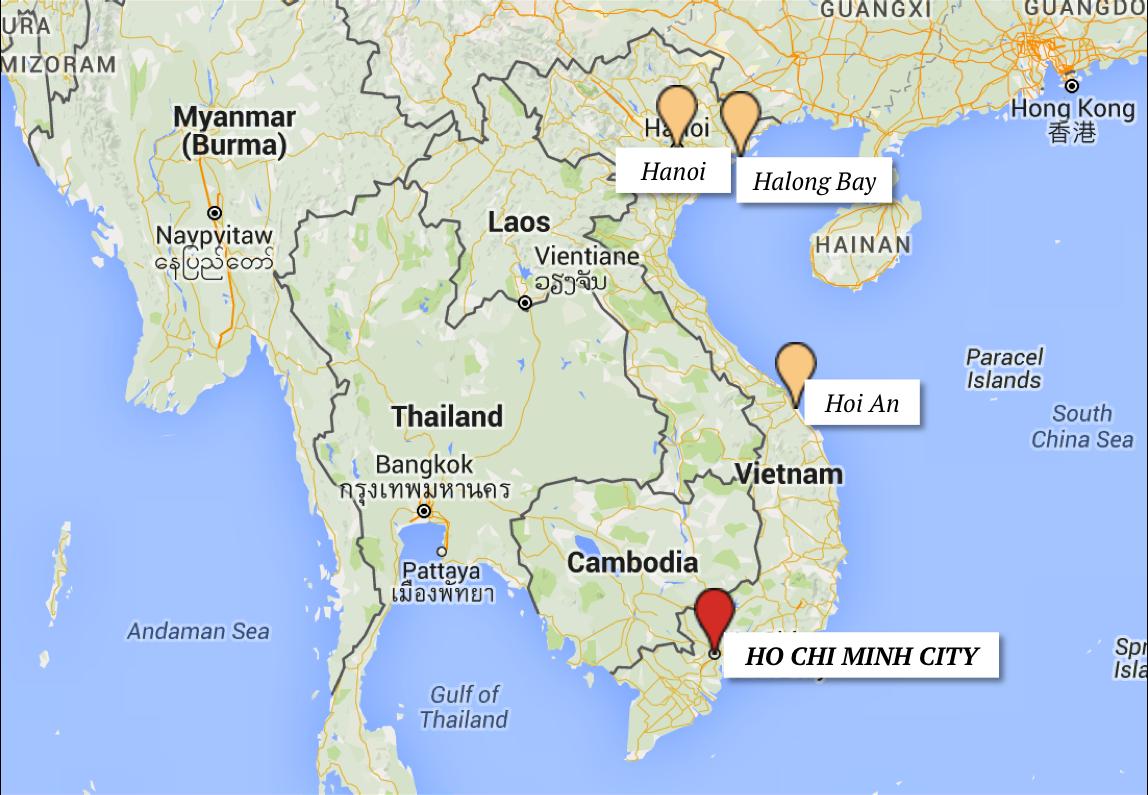 ho chi minh city saigon roteiro vietna cidades