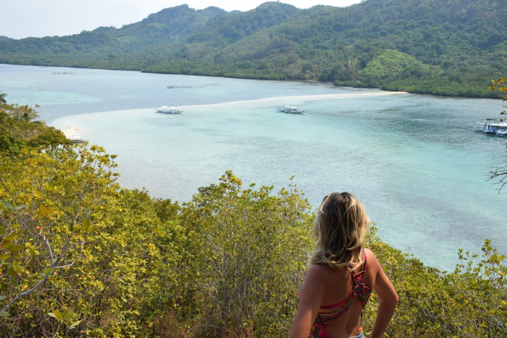 Snake Island, ou Vigan Island, vista do topo