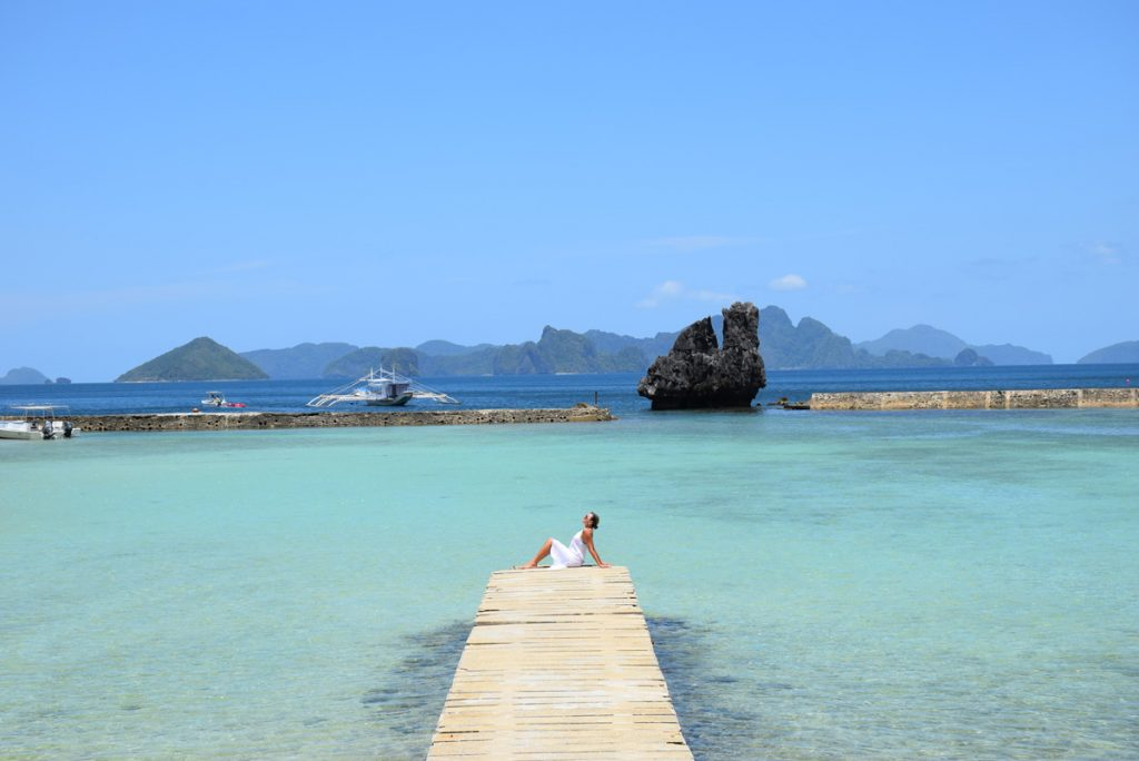 Mar muuuuito azul turquesa por aqui! Lagen Island - El Nido Resorts
