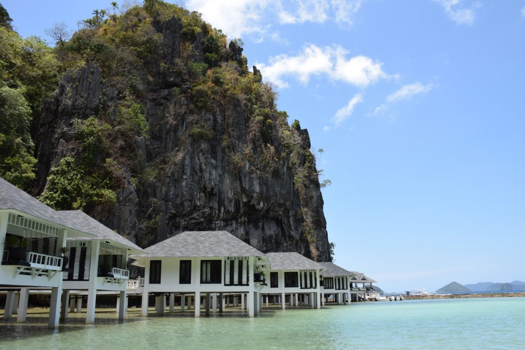 Os bangalôs do Lagen Island - El Nido Resorts