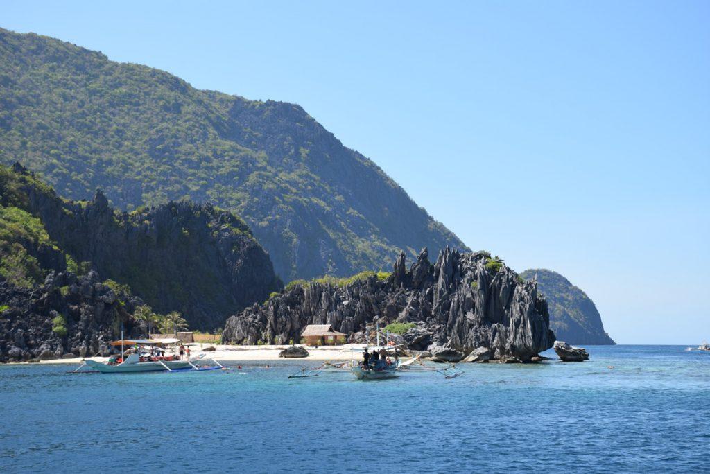 Início do Estreito de Tapiutan - aqui começava o snorkel. Maravilhoso!!